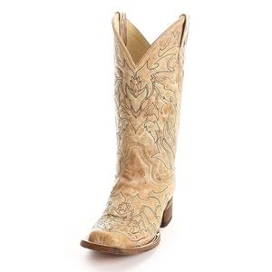 Corral Women's Embroidered Leather Boots